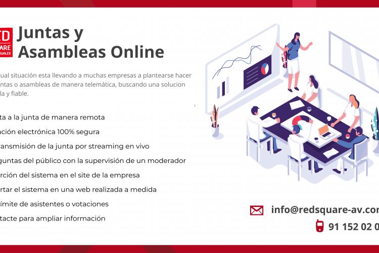 Juntas y asambleas online
